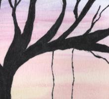 Tree Silhouette  Sticker