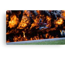 Aerobatic Explosive Tangle Canvas Print