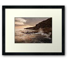 Seacombe Bay Framed Print