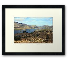 Killarney lakes Framed Print