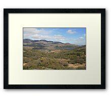 Killarney lakes 3 Framed Print