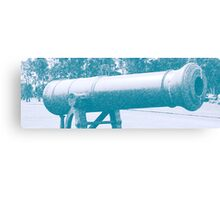 Old canon Canvas Print