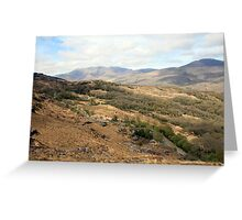 Rural county Kerry Greeting Card