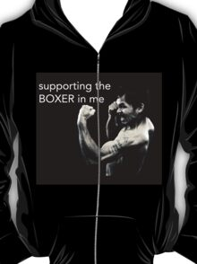 supporting the boxer in me T-Shirt