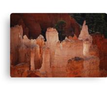 Hoodoo's Of Bryce Canyon Canvas Print