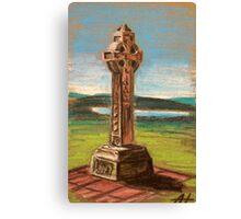The Celtic cross Canvas Print