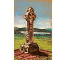 The Celtic cross Photographic Print