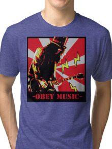 Obey slash Tri-blend T-Shirt