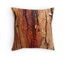 'Coloured bark' Throw Pillow