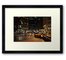 Milwaukee in the Winter Framed Print