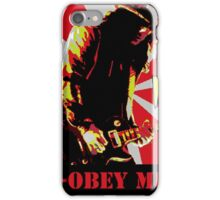 Obey slash iPhone Case/Skin
