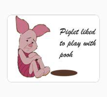 Piglet Luvs Pooh by Steve E