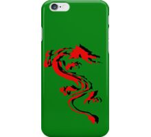 3D Double Dragon Silhouette iPhone Case/Skin
