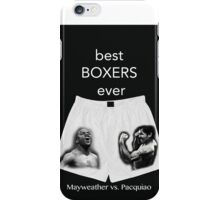 best boxers ever iPhone Case/Skin
