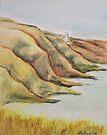 Clutching cliffs by Alan Hogan