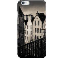 Black And White Edinburgh iPhone Case/Skin