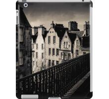 Black And White Edinburgh iPad Case/Skin