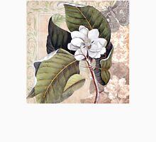 Antique Magnolia Collage Unisex T-Shirt