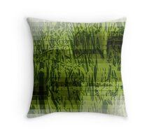 Reeds sequence Throw Pillow