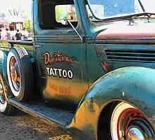Tattoo Truck Las Vegas.. by Rita  H. Ireland