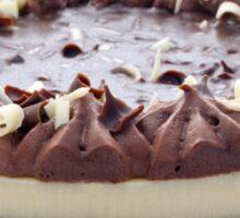 Chocolate Cheesecake Sticker