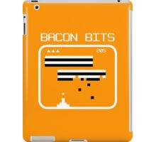 Bacon bits retro video game Funny Geek Nerd iPad Case/Skin