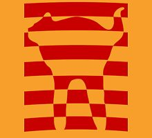 red striped cat 2 Unisex T-Shirt