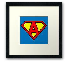 Super A Framed Print