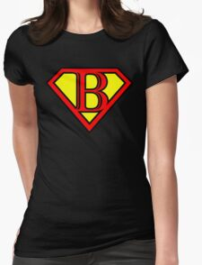Super B Womens Fitted T-Shirt