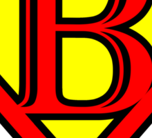 Super B Sticker