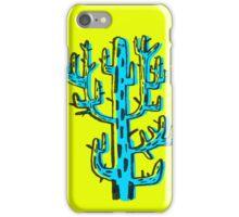 Cactus azul iPhone Case/Skin
