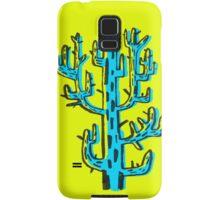 Cactus azul Samsung Galaxy Case/Skin