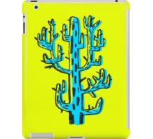 Cactus azul iPad Case/Skin