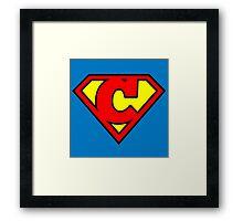 Super C Framed Print