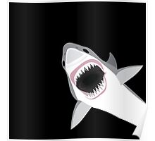 Great White Shark Attack Poster