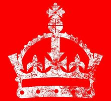 Crown, Keep calm and carry on by monsterplanet