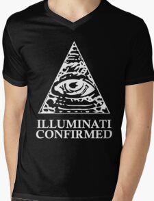 ILLUMINATI CONFIRMED Mens V-Neck T-Shirt