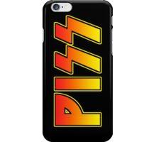 PISS iPhone Case/Skin