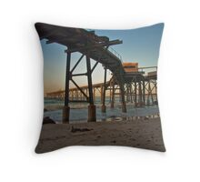 Dusk at Catherine Hill Bay Throw Pillow