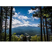 Mount Fuji Photographic Print