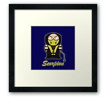 Scorpion (Demonoids) Framed Print
