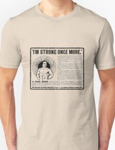 'I'm Strong Once more' advert T-shirt etc.... T-Shirt
