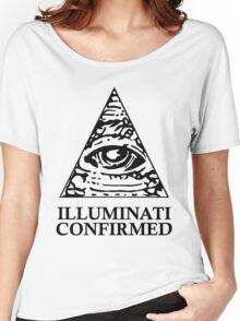 ILLUMINATI CONFIRMED Women's Relaxed Fit T-Shirt
