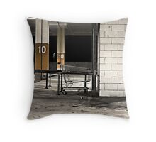 Urban Trolley Throw Pillow