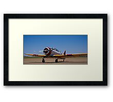 North American Rokwell Harvard AT-6C (SAAF 69) (ZU-FNE) Framed Print