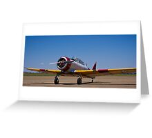 North American Rokwell Harvard AT-6C (SAAF 69) (ZU-FNE) Greeting Card