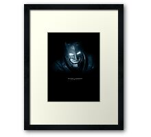 Do You Bleed? You Will... Framed Print