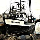 Black Fish Boat by terrebo