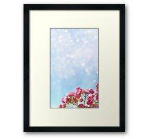 While I Bloom Framed Print