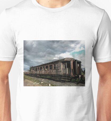 Abandoned Passenger Wagon Unisex T-Shirt